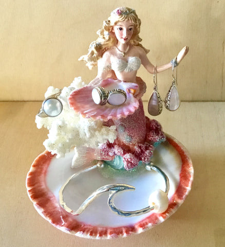 Mermaid Shell Jewelry Dish