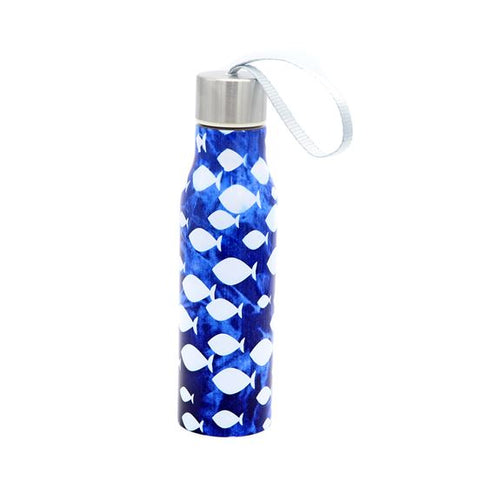 Batik Fish Water Bottle