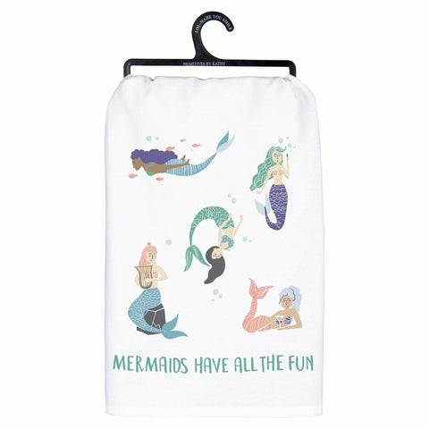 All The Fun Mermaid Towel