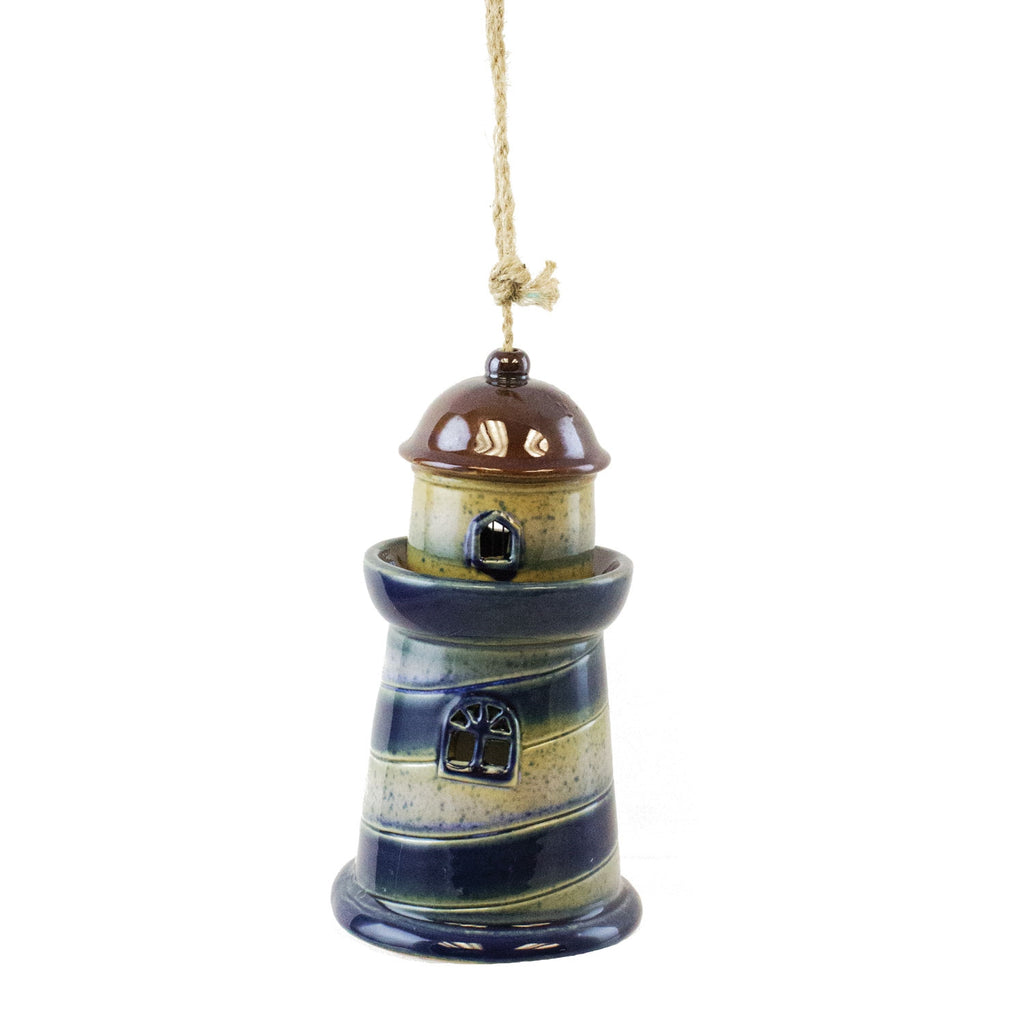 Ceramic Lighthouse Bell Chime
