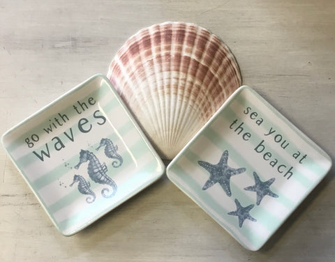 Beach Stripes Trinket Dish