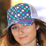 Mermaid Scales Hat