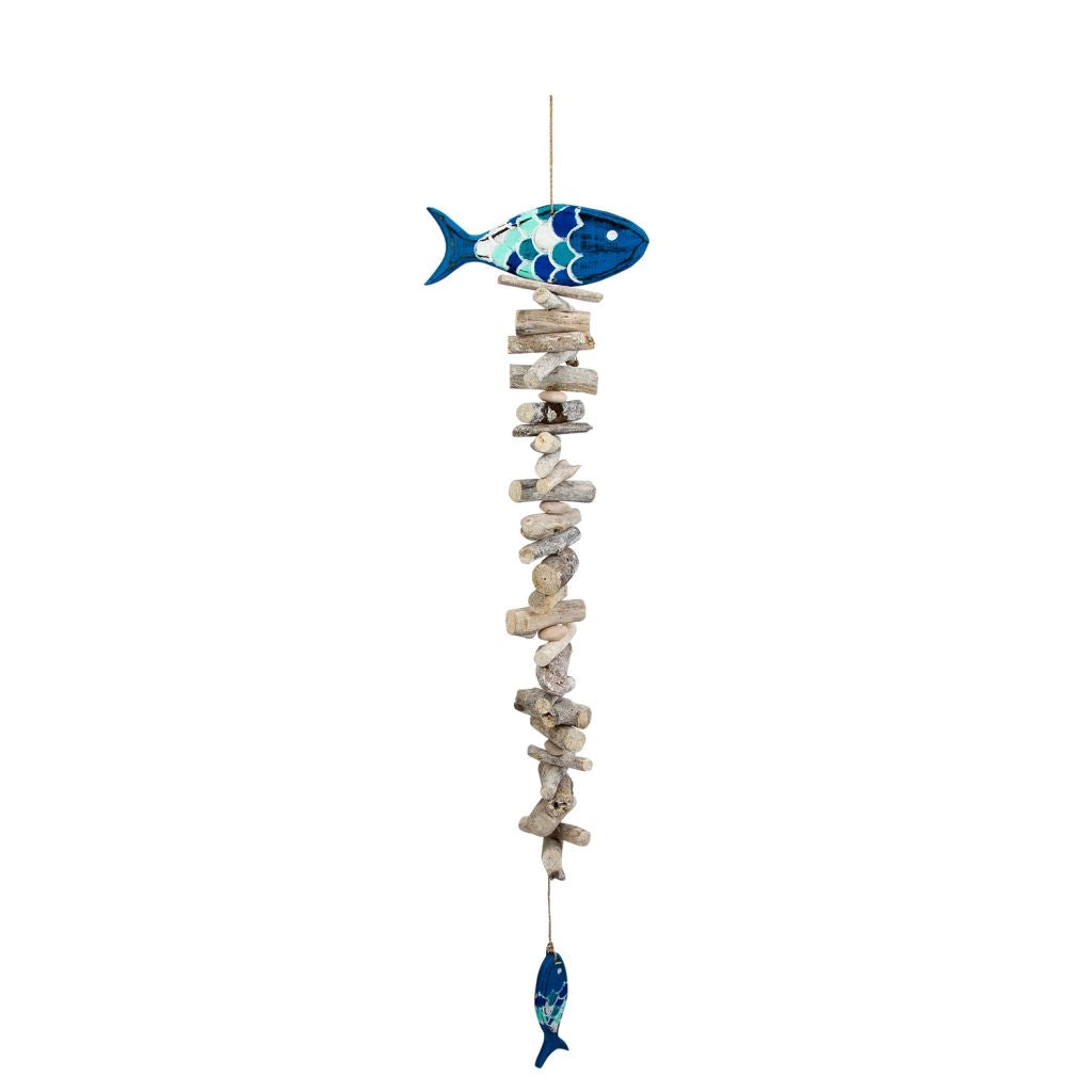 Fish Driftwood Mobile