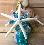 Mermaid Holiday Tree Topper