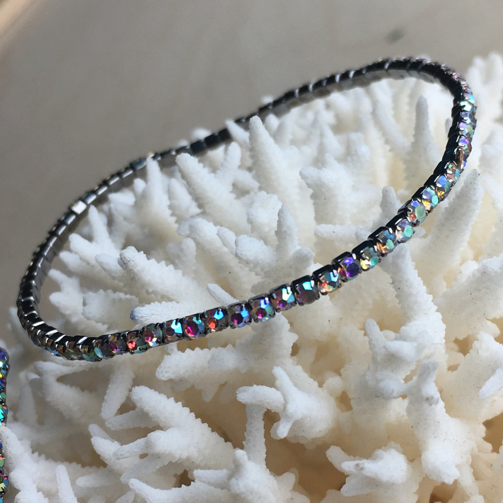 Ocean Sparkle Stretch Bangle