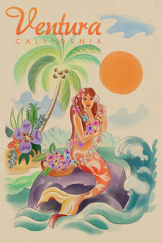 Aloha Mermaid Ventura Coaster