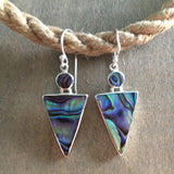 Arrow Abalone Earrings