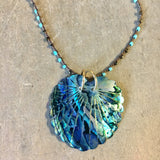 Abalone Paua Peacock Necklace