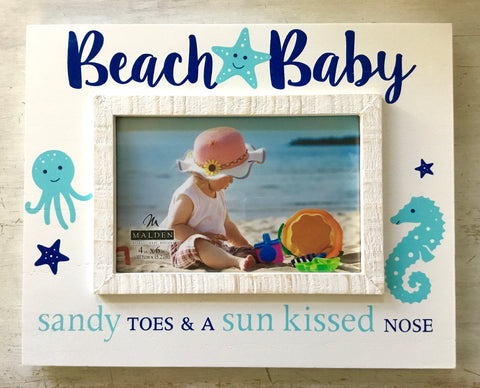 Beach Baby Photo Frame