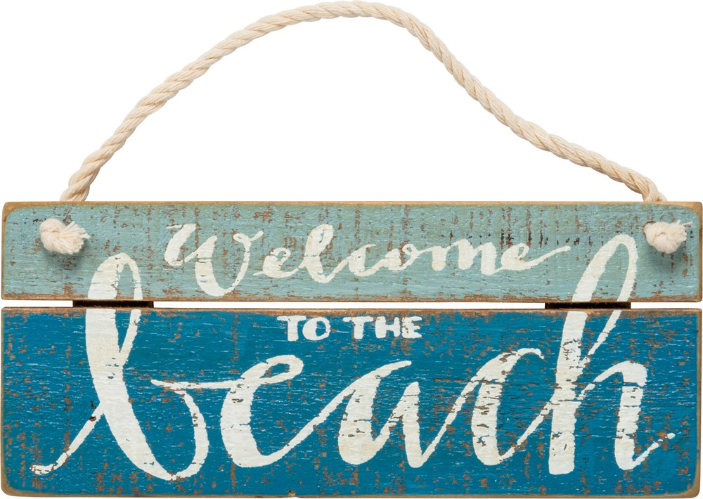Welcome to the Beach Mini Sign