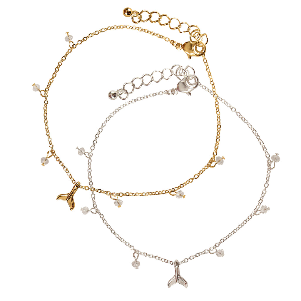 Dainty Whale Anklet
