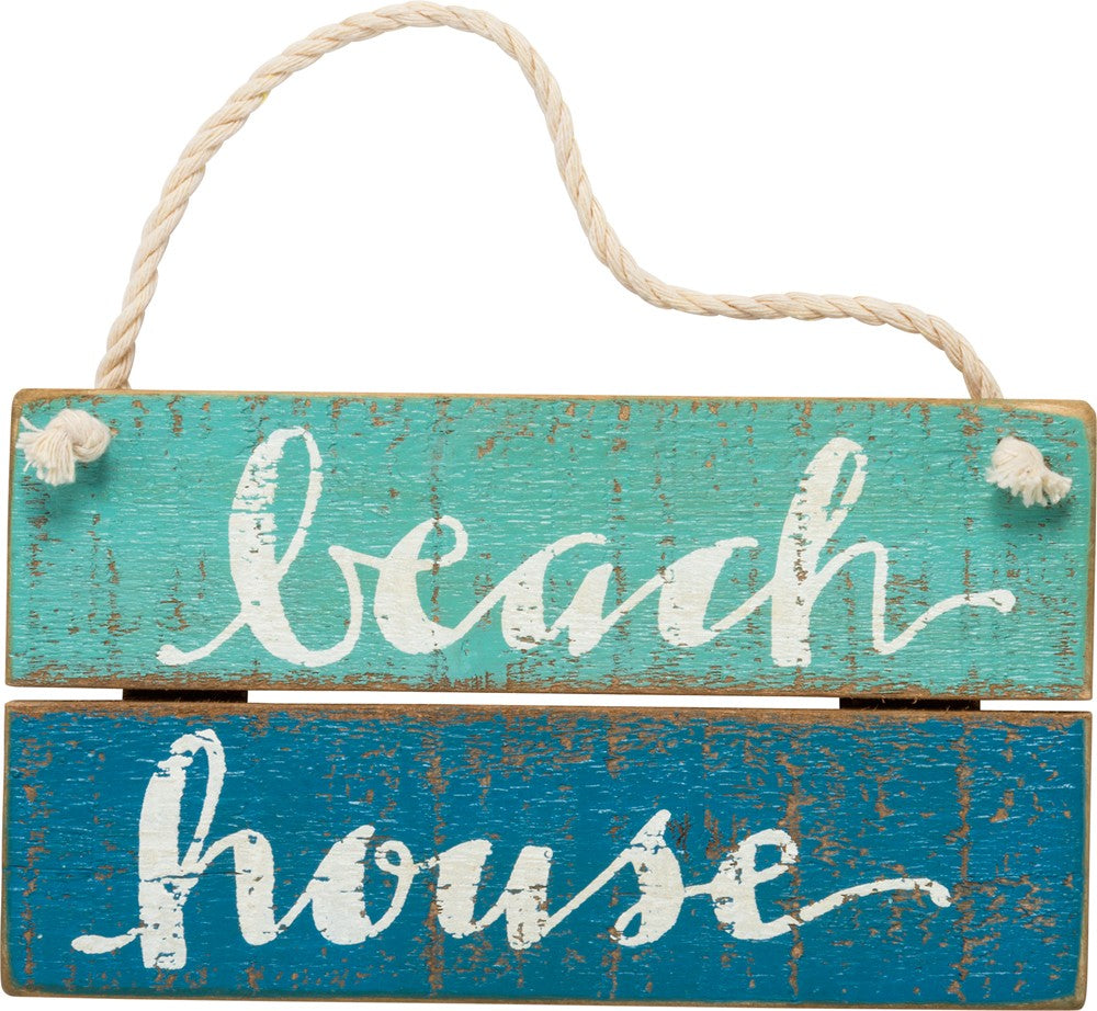 Beach House Mini Sign