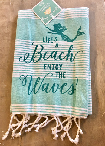 Sea Wave Towels