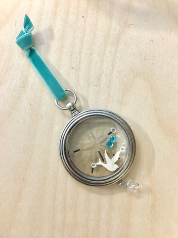 Sand Dollar Locket Ornament