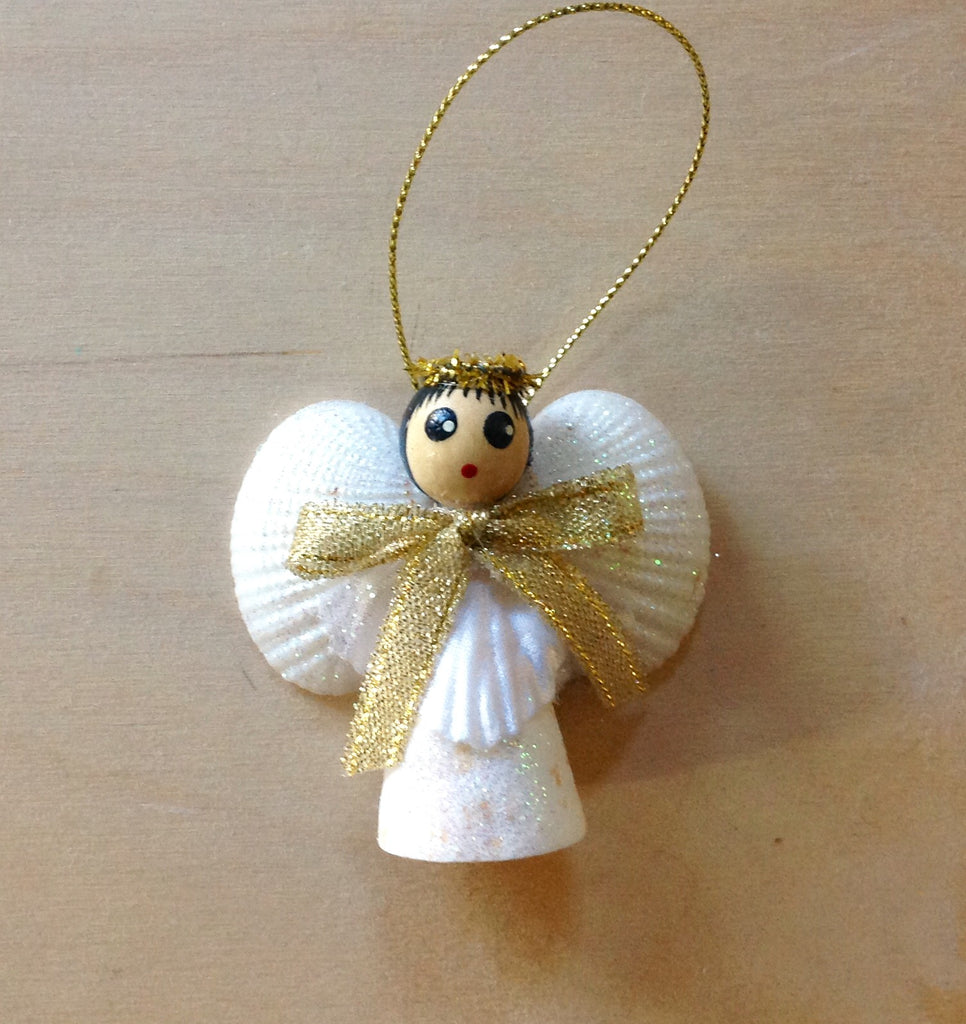 Cone Angel Ornament