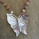 Sea Moon Butterfly Necklace