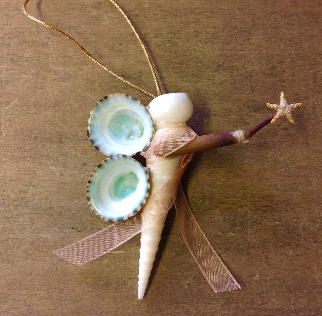 Seashell Fairy Ornament