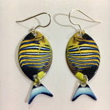 Tropical Fish Earrings Regal