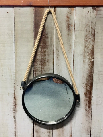 Hanging Rope Mirror