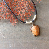 Wooden Sea Turtle Necklace