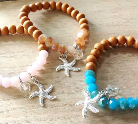 Bead Happy Starfish Bracelet