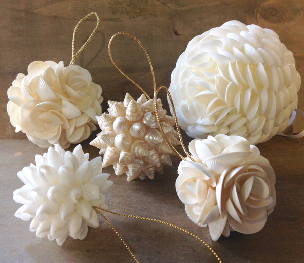 White Christmas Ornaments Bulk