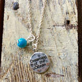 Dreaming Ocean Charm Necklace