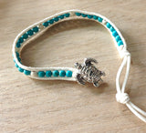 Sea Turtle Button Bracelet