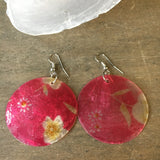 Tropical Capiz Earrings