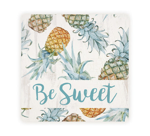 Be Sweet Pineapple Coaster