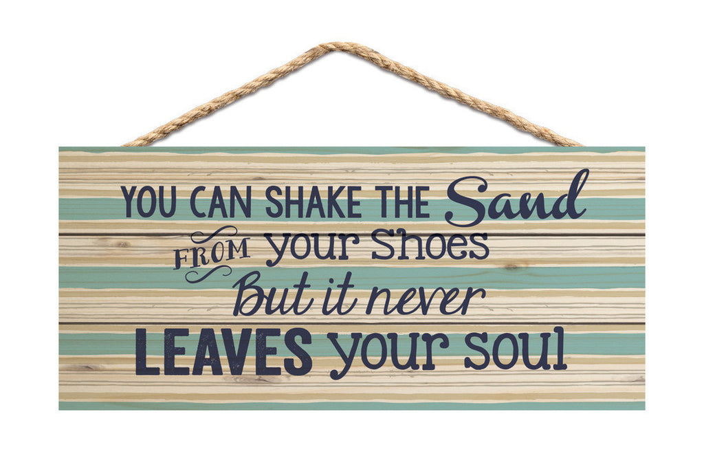 Sand Soul Rope Sign