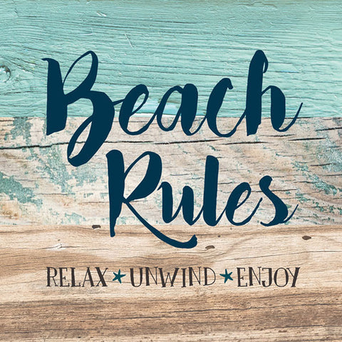 Beach Rules Magnet