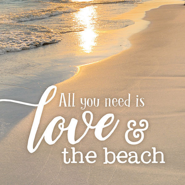 Love & the Beach Magnet