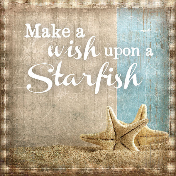 Wish Upon a Starfish Coaster