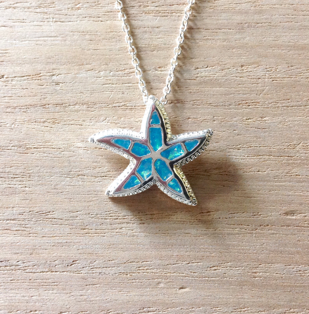 Starfish Shimmer Necklace