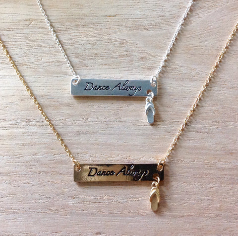 Dance Always Necklace
