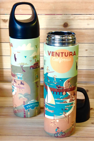Ventura Coastline Water Bottle