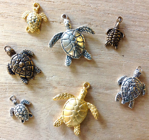 Sea Turtle Charms & Pendants