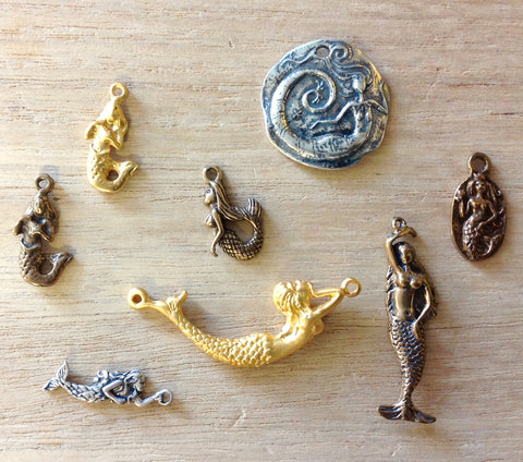 Mermaid Charms & Pendants