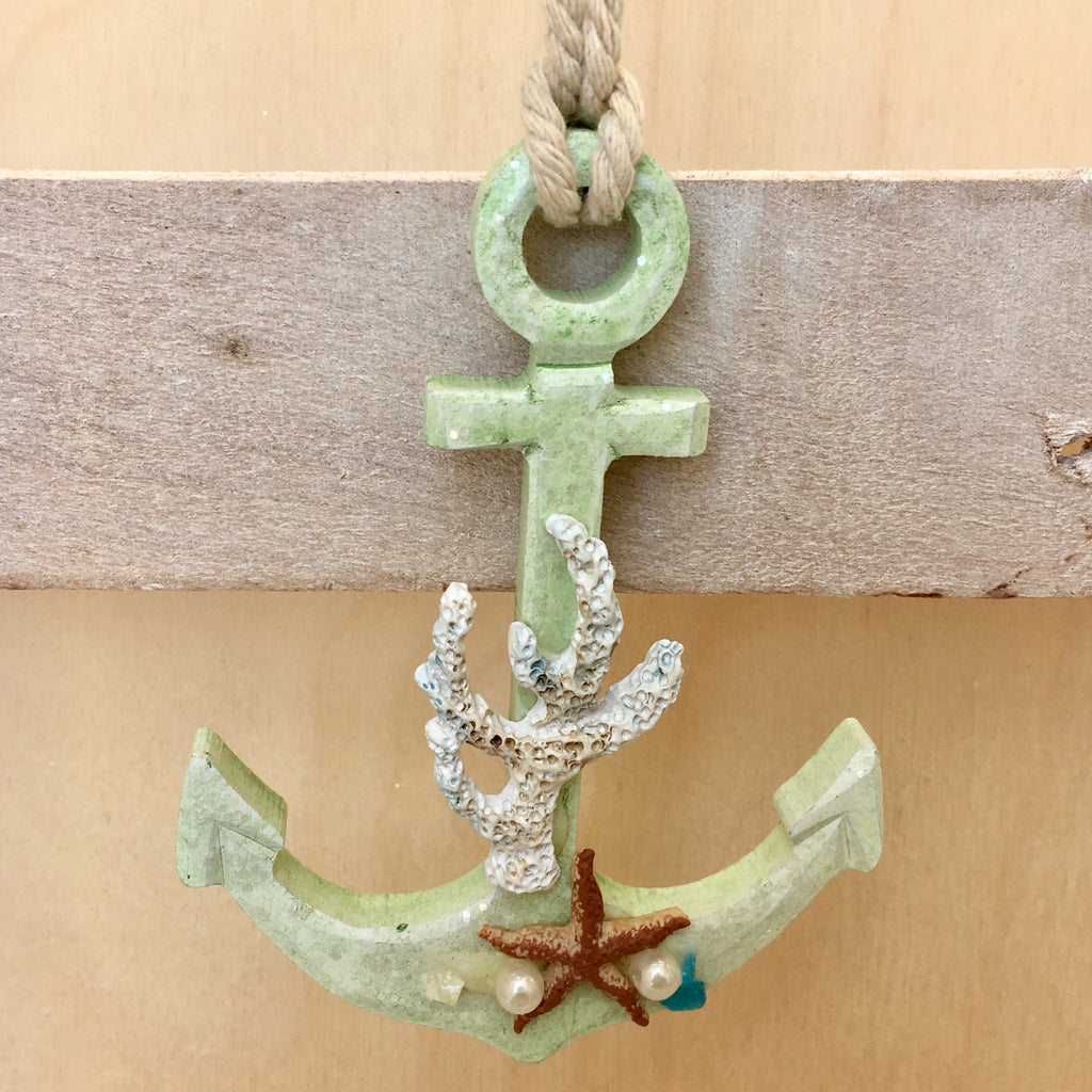 Nautical Anchor Christmas Ornament