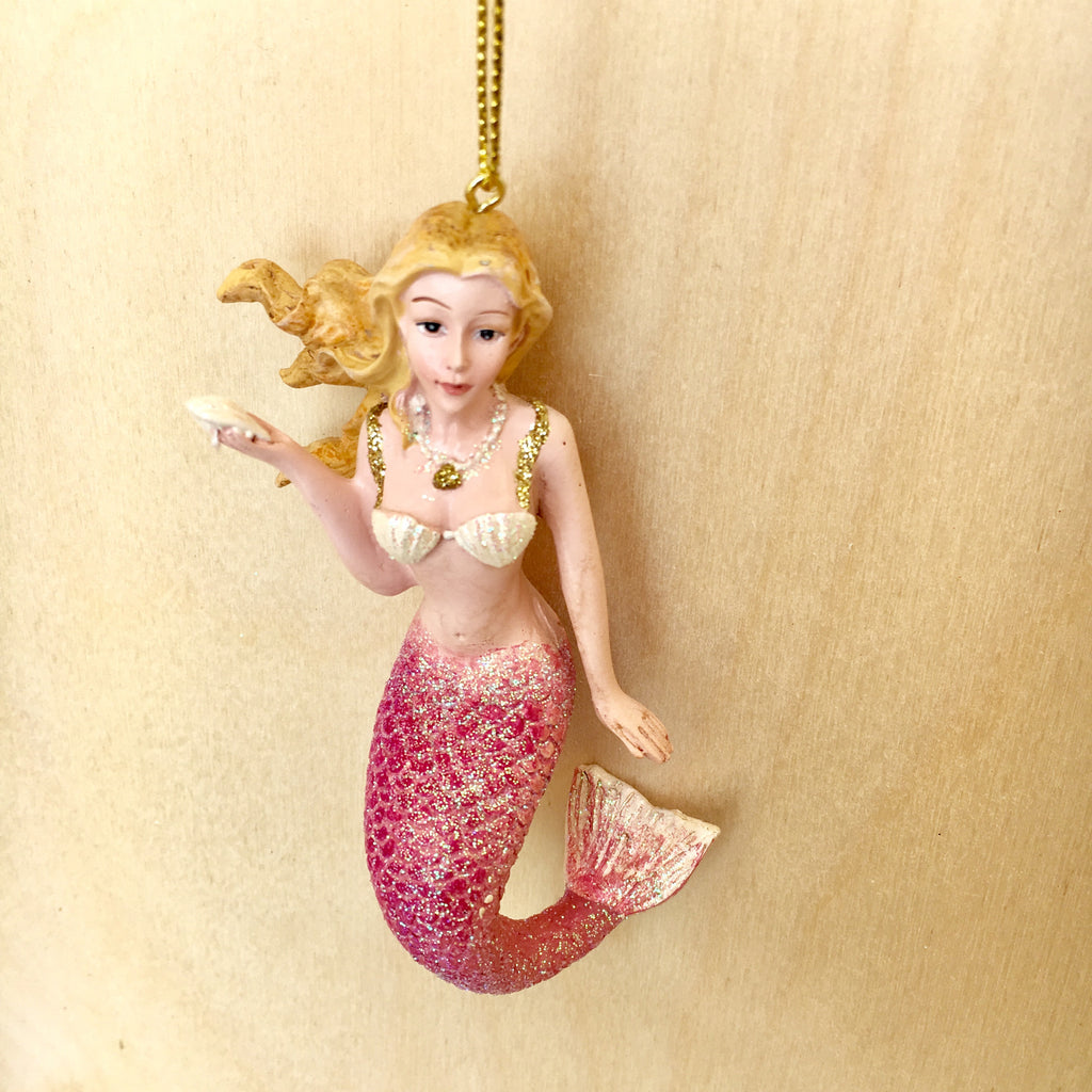 Mermaid Gifts Christmas Ornament