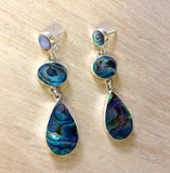 Abalone Raindrop Earrings