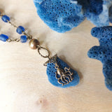 Blue Marine Necklace