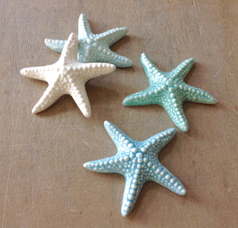 Mini Ceramic Starfish