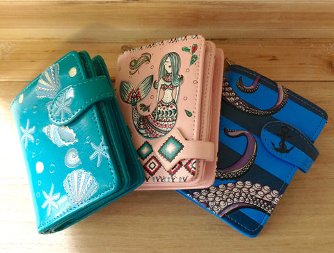 Ocean Dream Zip Wallet
