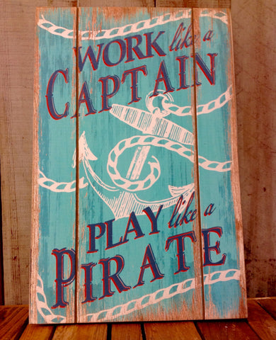 Captain or Pirate Wall Art