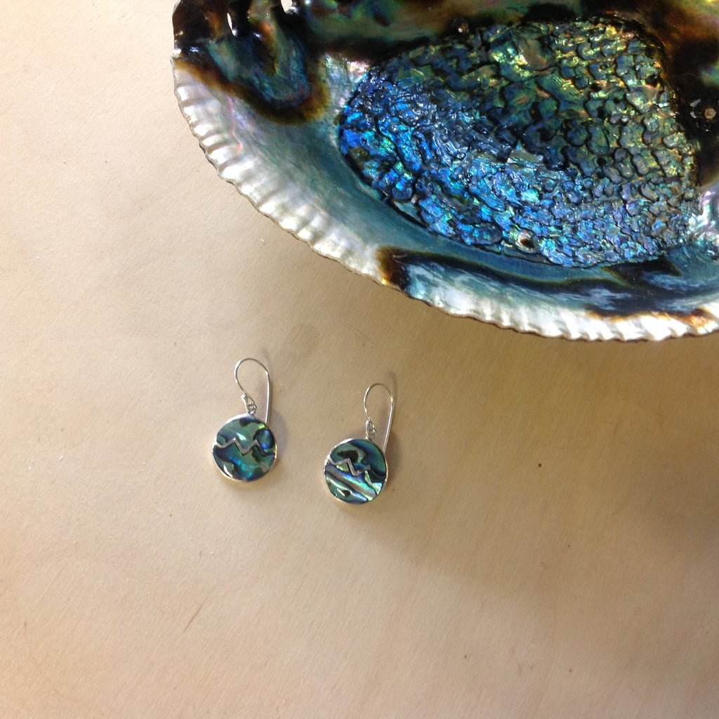Abalone Mountain Earrings