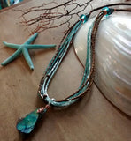 Double Abalone Necklace