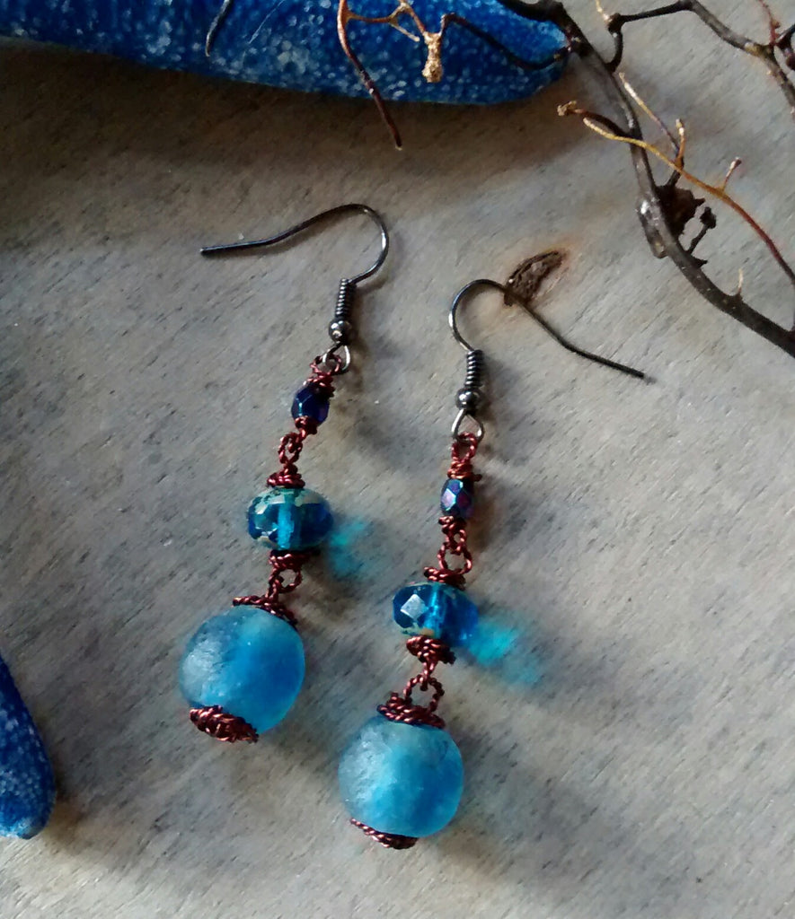 Lagoon Blue Earrings