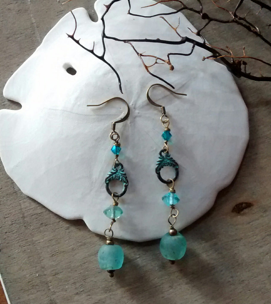 Sea Patina Earrings